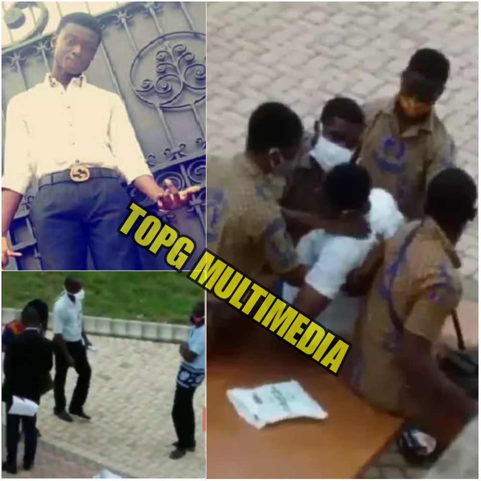 VIDEO; How teachers watched unconcern as student died at KNUST Senior High School