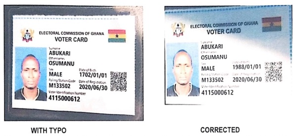 ID card with 1702 date of birth was a typo – EC